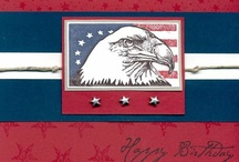 Patriotic Cards / by Bonnie Brang