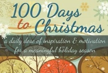 100 Days to Christmas / The journey from September 16 to Christmas day.  Each day in the 100 Days to Christmas will provide you with the tips, tricks, and reminders to get you planning and motivated for the holiday season.