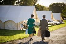 Goodwood Revival 2012 - The Pop-Up Hotel