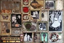 Keeping memories alive / Scrapbooking type ideas / by Sarah Mutter