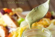 Dressings, Dips and goodies / Additions to any meal or just a snack / by Sarah Mutter