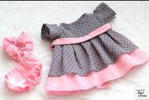 Mes vêtements de poupées / Vêtements pour poupées Waldorf, Corolle...