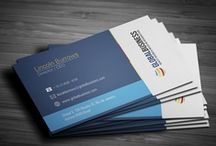 B U S I N E S S / corporate design, print design, business cards / by Dorothee Schäfer