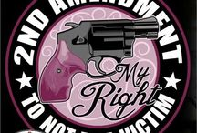 Girls with Guns / by Michele Seat