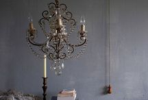 Shine A Light on Me  / My obsession with chandeliers!!  / by Michele Seat