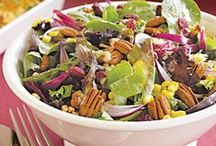 Salads for All Seasons  / Summer, Winter, Autumns, Spring - who said salad is only for the warmer months?  / by Pink Pad