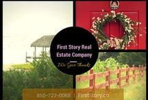 First Story Real Estate Company Tallahassee FL / 316 Williams St. Tallahassee, FL 32303 850-727-0066, 850-212-0440 http://www.firststory.co Real Estate, Relationships, Stories of Home buyers and sellers, Fun real estate information, homes for sale, how-to sell, stage and purchase a home, the Tallahassee, FL real estate market!