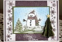 Cards - with a Snowman / by Bonnie Brang