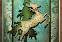 Cards - with a Deer die cut / by Bonnie Brang