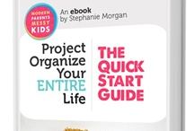 Organized Home and Life / Everything to get my life and home organized. And all sorts of tips to make it better and more efficient.