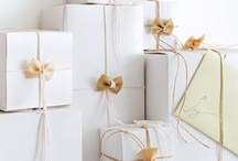 Wrap It Up! / Gift wrap ideas / by Evette Rios