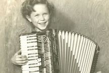 Mama's got a Squeezebox! / My tribute to the Accordion...I have not been without one in over 50 years and I now own 3 piano accordions, 2 toy button boxes, tons of sheet music, etc.
