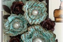 Crafts: Flowers, Pom Poms and Such / Decorative flowers for decor, hair, etc.