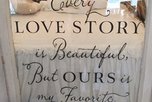 Vinyl / Beautiful quotes and tips for using vinyl lettering.