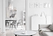 Shades of White and Gray Decor / Decor that showcases whites and grays.