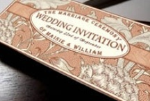 Vintage Wedding Invitations, Abrielle Collection / Vintage wedding Invitations from Com Bossa