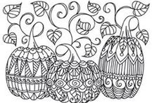COLORING PAGES / by Charlotte English