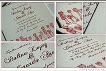 Bespoke Wedding Invitations / Recent bespoke wedding stationery created for some amazing couples...
