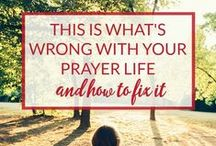 Faith: Prayer / Do you ever wonder what to pray about? Maybe you can't seem to find a time to pray. Or perhaps sometimes God seems distant. This board is a collection of articles and tips to help you out.