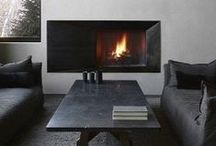 Fireplaces / Great fireplaces. Modern, Rustic, Traditional - anything goes if it inspires you to sit by a fire and enjoy life.