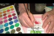 FUNN How-To Videos / Short creative craft warm up videos to get your creative juices flowing for your weekend (or anytime) craft projects.