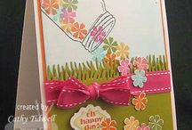 Card Ideas / My papercrafting and ink folder got too crowded so I had to give card making a folder of its own. / by Joanne Buendtner