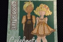 Hello Dolly! / Paper dolls for tags, scrap booking and mixed media projects
