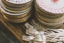 Vintage servies