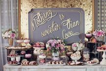 Sweet table setting / Inspiration