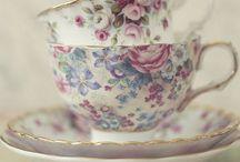 Tazze inglesi Tea cups