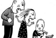 Aprendizaje vicario de la violencia / Este tablero se dedicará a dar a conocer cómo desde niños aprendemos la violencia por observación de nuestros padres, para  posteriormente normalizarla en nuestra edad adulta y responder de manera impulsiva y agresiva ante una situación.