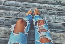 Ripped Jeans / Goals