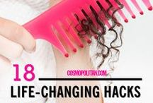 Hair Hacks- Home Remedies / We help you fulfilling your desire to get rid of all kinds of hair problems by using simple home remedies to get perfect cure for longer period.