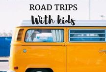 Campervanning + Road Trips With Kids / Campervanning with kids, Road Trips with kids, Campervanning Europe, Bucket list,  Family Travel Tips for road trips.