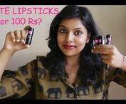 Best Matte lipsticks / Suitable lipsticks for skin tone, Best red lipstick Matte lipstick shades, lip swatches