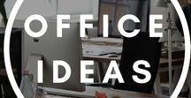 Office Ideas for work / Office ideas and healthy tips for your office and inspiration for better focus and productivity.