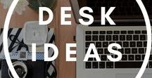 Desk Ideas / Desk ideas for home and office. Computer protection and new technologies. Keyboard covers for MacBook, Acer Chromebook.