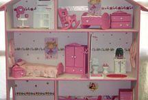 Casas de muñecas / Quién no ha soñado con una casa de muñecas, usa tu ingenio e imaginación y podrás hacerlo realidad