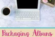 Packaging Álbuns / Inspiração para packaging de álbuns