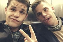 Max and Charlie Carver