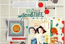Layout inspiration -scrapbooking / by Justine Hastie