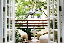 HOME • Balcony & Garden / by • Ginylle •