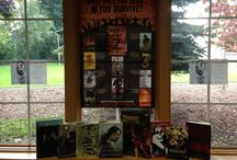 Zombies Take the Library / Tips and ideas for hosting a bloody good event @ your library. If you would like a What Will You Read If Survive? Zombie Poster email us at library@randomhouse.com. Send us pics of your zombie event/display and be entered to win a Zombie Survival Kit!