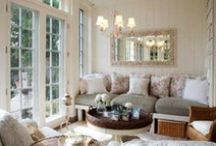 Relaxing Living Spaces