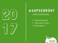 #AUFGEBRÜHT - Interviewserie mit Cafégründern / #AUFGEBRÜHT - 20-teilige Interviewserie mit Cafégründern in Deutschland. Ich liebe die mutigen und leidenschaftlichen Quereinsteiger, die ihren Traum vom eigenem Café verwirklicht haben.