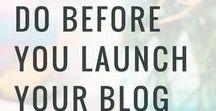 Wie beginne ich einen Blog? / Diese Pinnwand ist speziell für diejenigen, die mit einem eigenen Blog beginnen möchten...