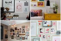 Posters / home decor ideas with posters