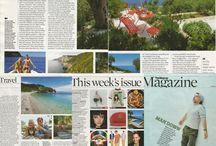 Paxos: press review / #paxos #greece #ionian #island #press #presse #stampa #review #rivista #revue #magazine #observer #journalist #journalism #lifestyle