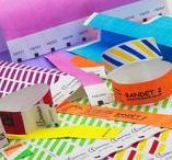 A variety of wristbands and promotional Items / Events, Wristbands, Lanyards
