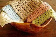 Crochet Home Goods and Knicknacks / Crochet inspiration, patterns and tutorials! Baskets, linens, coasters, etc.